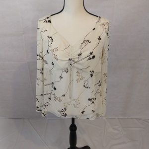 George Blouse - Ivory - Large
